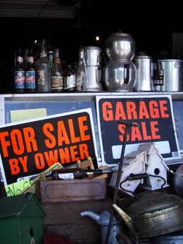 Garage Sale, Michigan